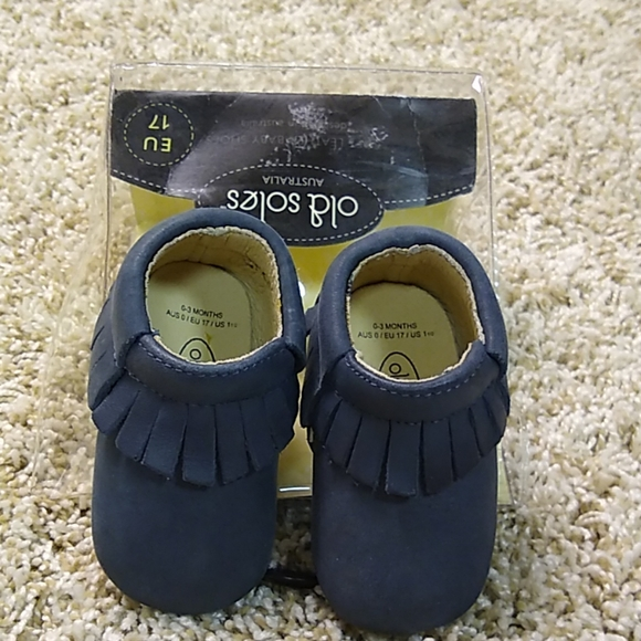 Soft Leather Baby Moccasins